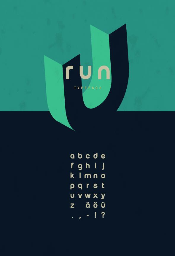 RUN – Typeface
